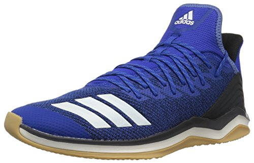 adidas Men's Icon 4 Baseball Shoe, Collegiate Royal/Cloud White/Carbon, 11.5 M US