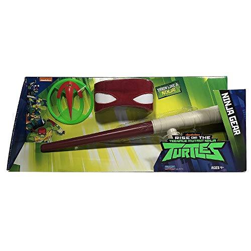 Giochi Preziosi Teenage Mutant Ninja, Turtles Rise Off, Set Armi Ninja, Raphael's Tonfa