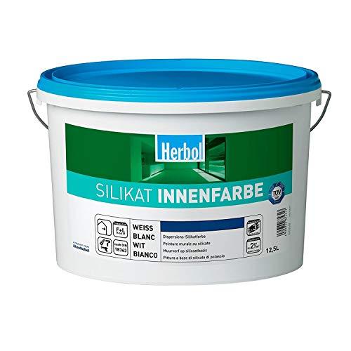 Herbol Silikat Innenfarbe Matt 12,5 Liter