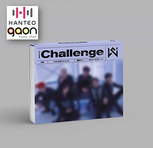 Kakao M Wei - Identity : Challenge [Challenge ver.] (2nd Mini Album) [Pre Order] CD+Photobook+Folded Poster+Others with Tracking, Extra Decorative Stickers, Photocards
