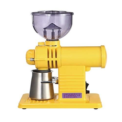 Amazing Deal Coffee tools Coffee tools Electric Coffee Grinder Flat Wheel Burr Grinder Coffee Miller...
