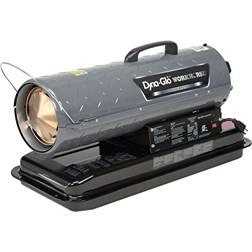 Dyna-Glo Workhorse KFA50WH, 50K BTU Kerosene Forced Air Heater