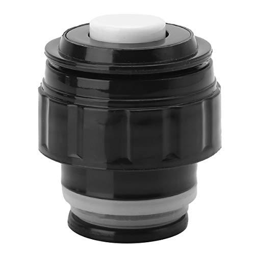 Freebily Isolierflasche Deckel Thermoskanne Abdeckung Ersatzdeckel Trinkflasche Tragbare Universal Reise-Becher Zubehör 3,5/4,5/5,2 cm. Schawrz&Weiß Durchmesser 3.5cm