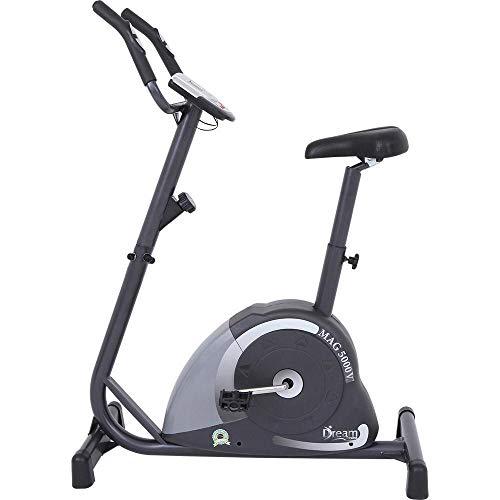 'Bicicleta Ergométrica Vertical MAG 5000V, Magnética, Suporta Até 120kg, Painel Multifunções, Sensor Cardíaco, Assento Com Regulagem - Dream'