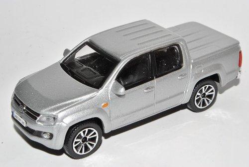 Bburago Volkwagen Amarok Pick-Up Silber Ab 2010 1/43 Modell Auto