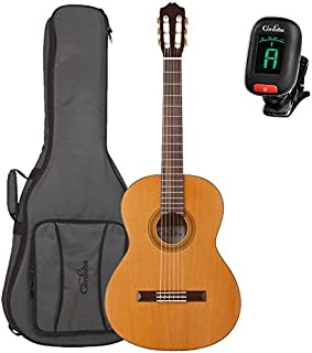 Cordoba C3M Classical Guitar with Cordoba Deluxe Gig Bag and Cordoba Clip-On Tuner