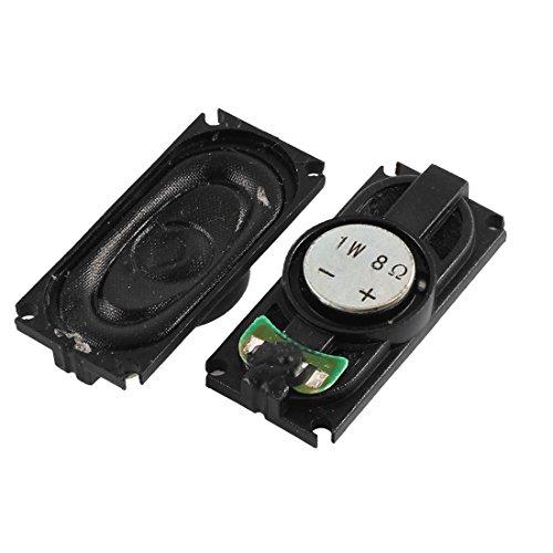 Aexit 1 Watt 8 Ohm Magnetische Art Kunststoffschale Rechteck Magnet Lautsprecher Lautsprecher Verstärker 35mm x 15mm 2 stücke (97c4f965b3d3345221ce963a4dee0970)