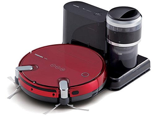 Buy Discount TOSHIBA Robot Cleaner TORNEO ROBO VC-RVS2-R (Grand Red)
