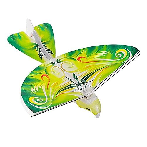 Perfeclan Telecomando Flying Parrot E-Bird con Ala Battente Realistica. Ottimo Regalo per Bambini per Uso Interno Ed Esterno - Verde