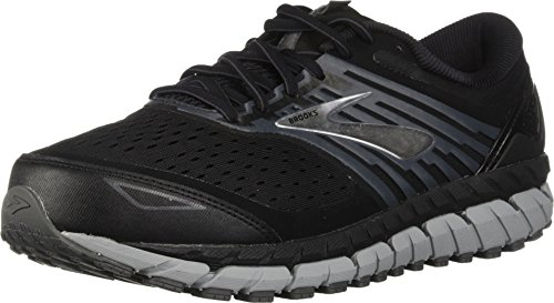 Brooks Men's Beast 18, Black/Grey, 12 EEEE US