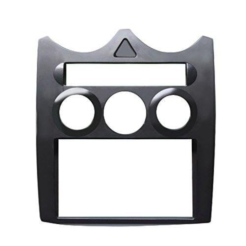 Feeldo stéréo de voiture CD DVD radio Façade Cadre pour Rover Mg3 2-DIN Dash Face Plate d'installation kit de montage