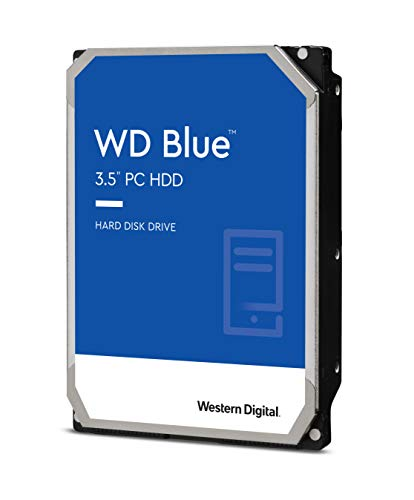 "Western Digital Blue WD40EZAZ - Hard disk da 4 TB, SATA 6 Gb/s, 3,5"", colore: Blu"