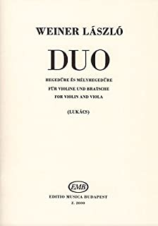 Duo for violin and viola