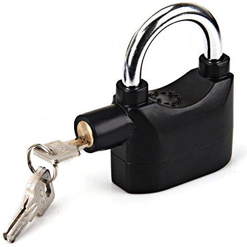 VelVeeta Anti Theft Motion Sensor Alarm Lock For Home, Office And Bikes, 1Pc(Black)
