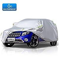 MATCC Funda para coche Exterior del Coche Impermeable 210T Resistente al Polvo, Lluvia, Rasguño y Nieve para SUV(485*190*185cm)