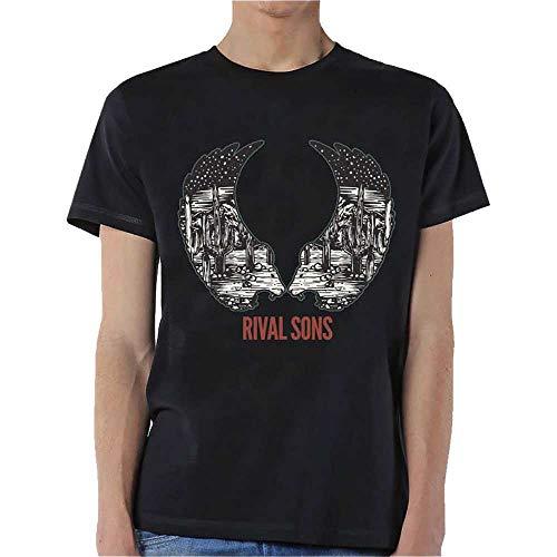 T-Shirt # Xl Black Unisex # Desert Wings