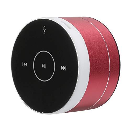 Weikeya Einfach zu Verbinden Musik Lautsprecher, Mini Lautsprecher ≤2 Std Geladen Zeit A2 1200mah(Enthalten) Metall zum Speicher Karte/AUX
