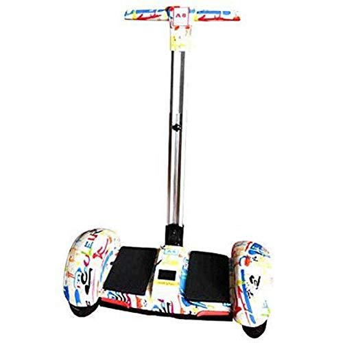 HIGHKAS Equilibrio para automóvil eléctrico, Scooter de Pensamiento de Doble Rueda autoequilibrante de 10 Pulgadas Scooter Twist Car Niños Equilibrio Luminoso para niños y Adultos, 1