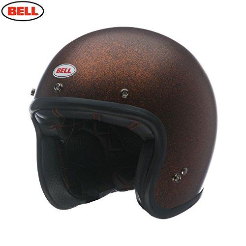 Bell Motorradhelme Street Custom 500 Adult Helm, Matte Orange Flake, XS