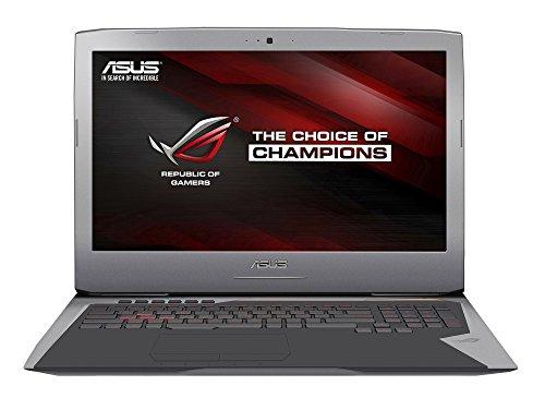 ASUS ROG G752VM-GC063T - Intel Core i7-6700HQ (6M Cache, 2.6GHz), Intel HD Graphics 530 + NVIDIA GeForce GTX 1060, 8GB RAM, 1TB HDD, 128GB SSD, Gigabit Ethernet, Windwos 10