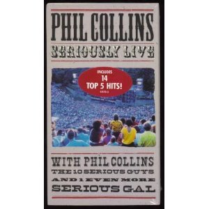 Price comparison product image Collins:Seriously Live in Berlin [VHS]