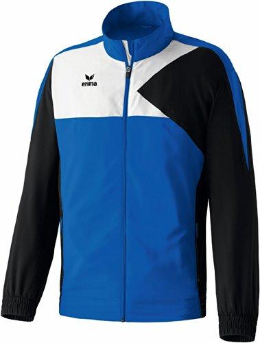 erima Erwachsene Anzug Premium One Präsentationsjacke, New Royal/Schwarz/Weiß, M