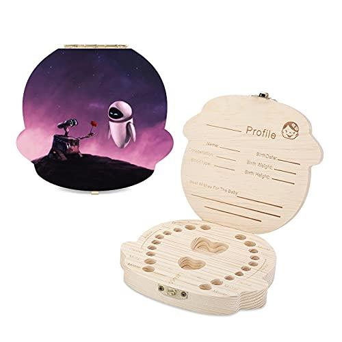 Wall-E - Caja de dientes para niños (madera)