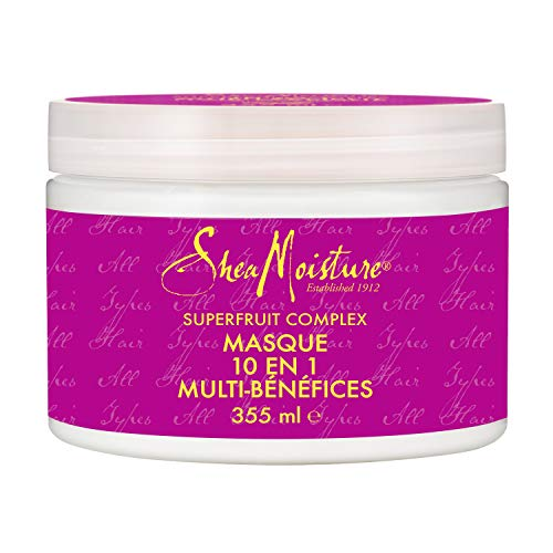 Shea Moisture Superfruit 10-in-1 Renewal System Hair Masque, 326 ml