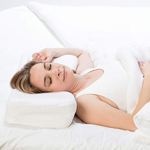 Therapeutica Pillow, Firm Orthopedic Support, Back or Side Sleeping, Average