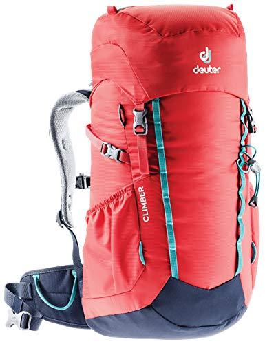 Deuter - Zaino per Bambini Climber, Bambini, 3613520, Colore: Chili, 22