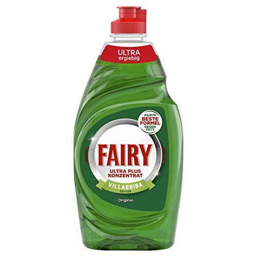 Fairy Ultra Plus Konzentrat Original Hand-Geschirrspülmittel, 10er Pack (10 x 450 g)
