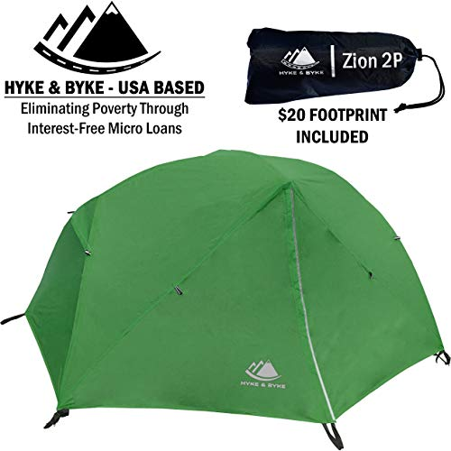 Hyke & Byke Zion 1 and 2 Person Tent