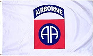 82nd Airborne Flag Polyester 3 ft. x 5 ft.