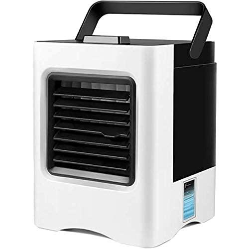 SKYEI Acondicionador de Aire portátil Recargable USB Mini refrigerador de Aire Humidificador Purificador Fan de enfriamiento de Aire Ventilador Personal para la Oficina en casa