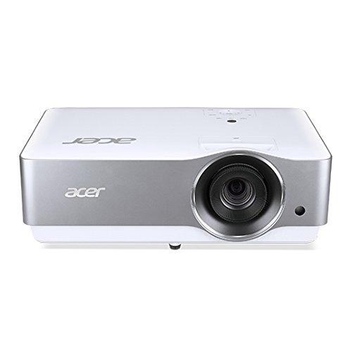 Acer VL7860 Beamer 3000 ANSI Lumen DLP 2160p (3840 x 2160) Ceiling-mounted Beamer, zilver, wit - Beamer (3000 ANSI lumen, DLP, 2160p (3840 x 2160), 16:9, 508-7620 mm (20-300 inch), 1-9,3 m)
