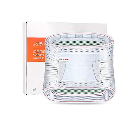 ZFF Soporte Lumbar Cinturón,Apoyo Lumbar Transpirable De Malla Paneles Doble Soporte De...