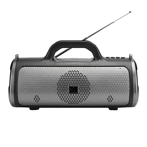 Altavoz Bluetooth, Mini Altavoz de Audio portátil con una Capacidad de batería Grande de 1200 mah, Altavoz inalámbrico de Interior para Tableta de teléfono móvil