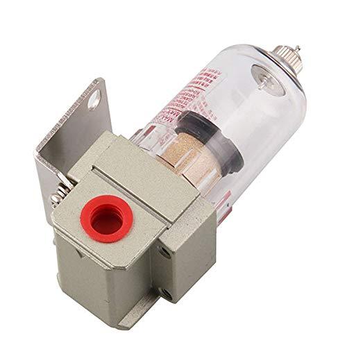 De Aire Regulador Bomba de aire Filtro de compresor Pneumático Universal Aceite Captura de aceite Tank Out impurezas Separador de agua comprimido (Color : Filter w PMSM20)