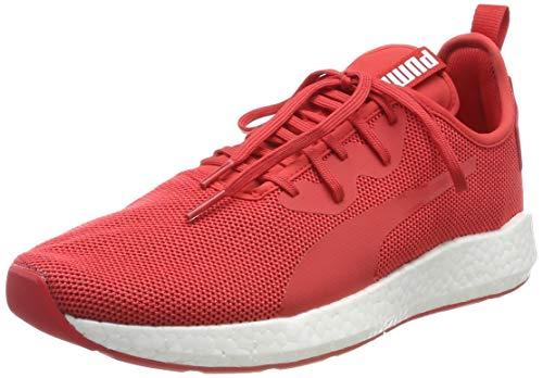 Puma Damen NRGY Neko Sport WN's Laufschuhe, Rot (Hibiscus -Puma White), 42.5 EU