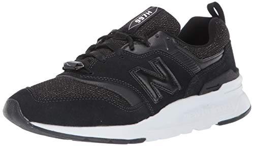 New Balance 997h, Zapatillas para Mujer, Negro (Black/White Black/White), 36.5 EU