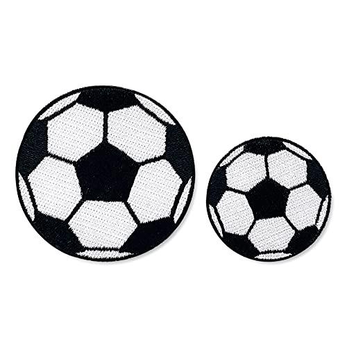 Toppa termoadesiva con motivo cartoon (calcio)