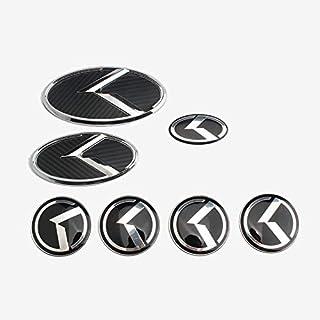 D28JD Logo Emblema para la Parrilla del radiador Letras de Metal Personalizado para el F-ORD 2015-2017 2.3T Mustang,Oro
