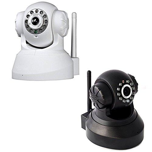Camera IP TELECAMERA Cam Wireless WIFI INFRAROSSI MOTORIZZATA IPCAM 10 LED Lan senza sd Vari Colori