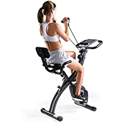 【Strong and Durable Steel Frame 】- The 3 in 1 exercise bike made of thicker and higher quality steel, reaches 440lb of the bending strength, loading 300lbs of the maximum dynamic bearing, and suitable height from 4ft 11in to 6ft 3in. So, this exercis...