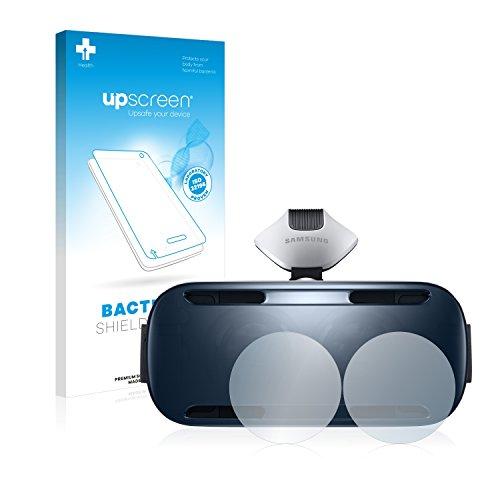 upscreen Antibakterielle Schutzfolie kompatibel mit Samsung Gear VR klare Displayschutz-Folie