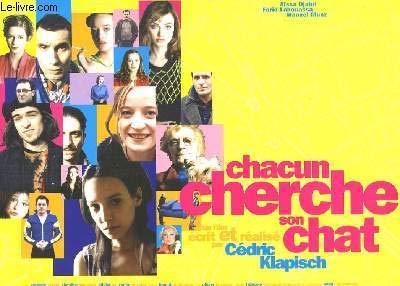 """Une plaquette de presse du film """"Chacun cherche son chat"""" de Cédric Klapisch avec Aïssa Djabri, Farid Laouassa, Manuel Munz .."""