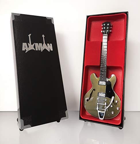 Chris Cornell (Audioslave) Réplica de guitarra en miniatura con caja de exhibición y soporte