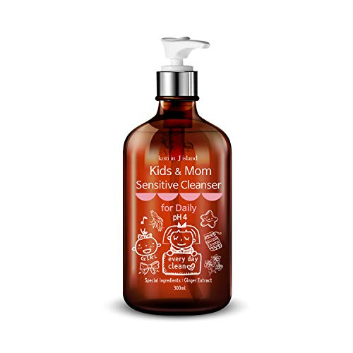 Intimate Wash for Kids   Feminine wash for sensitive skin, Ginger care, Delicate wash for daily, Child and Mom Sensitive Cleanser 10.14oz, Cleanses and Refreshes   kori in J island   koriinj