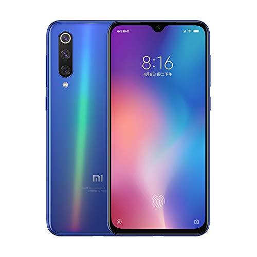"""eiAmz Xiaomi Mi 9 SE Smartphone,6G/128GB, Color holográfico, Pantalla AMOLED de Puntos de 5.97"""", cámara Triple Macro Gran Angular de 48 MP 117 ° (48 + 13 + 8), procesador Snapdragon 712 (Azul)"""
