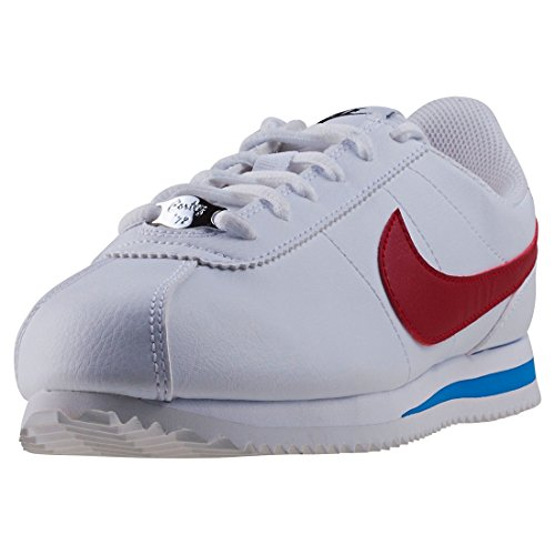 Nike Cortez Basic SL (GS), Scarpe da Ginnastica Basse Donna, Bianco (White 904764-103), 37.5 EU